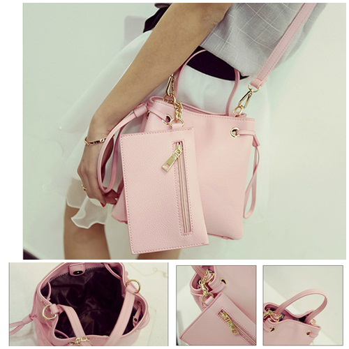 B980 IDR.170.000 MATERIAL PU SIZE L21XH20XW12CM WEIGHT 700GR COLOR PINK