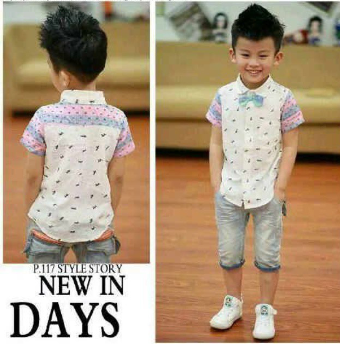 BA222 Baju Set IDR 205.000 Umur 4,5,6th