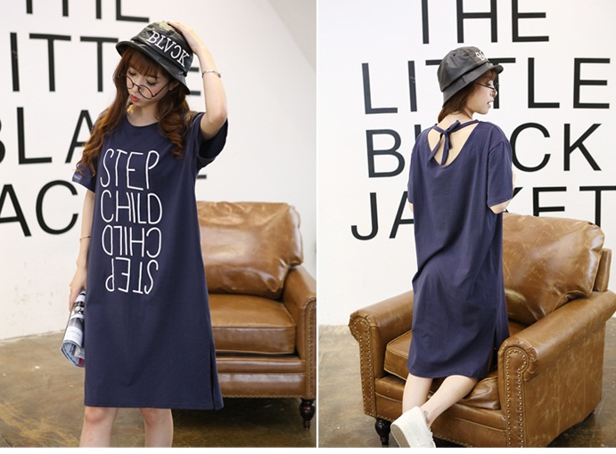 D13902 IDR.130.000 MATERIAL COTRON-LENGTH98CM,BUST110CM WEIGHT 250GR COLOR DARKBLUE