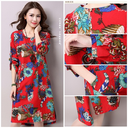 D22325 IDR.145.000 MATERIAL COTTON-SIZE-M-LENGTH98CM,BUST96CM WEIGHT 300GR COLOR RED