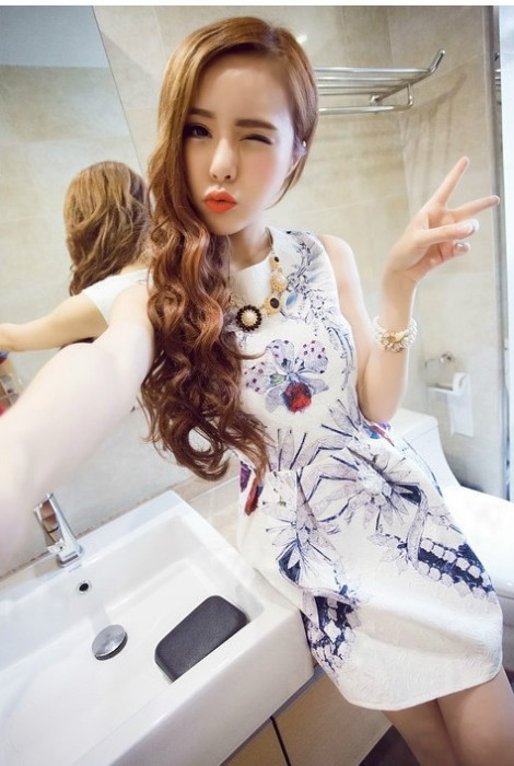 D34503 IDR.145.000 MATERIAL COTTON LENGTH80CM BUST88CM-WAIST70CM WEIGHT 300GR COLOR FLOWER