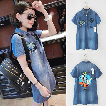 D36694 IDR.178.000 MATERIAL DENIM LENGTH82CM-BUST89CM-SHOULDER37CM WEIGHT 250GR COLOR ASPHOTO