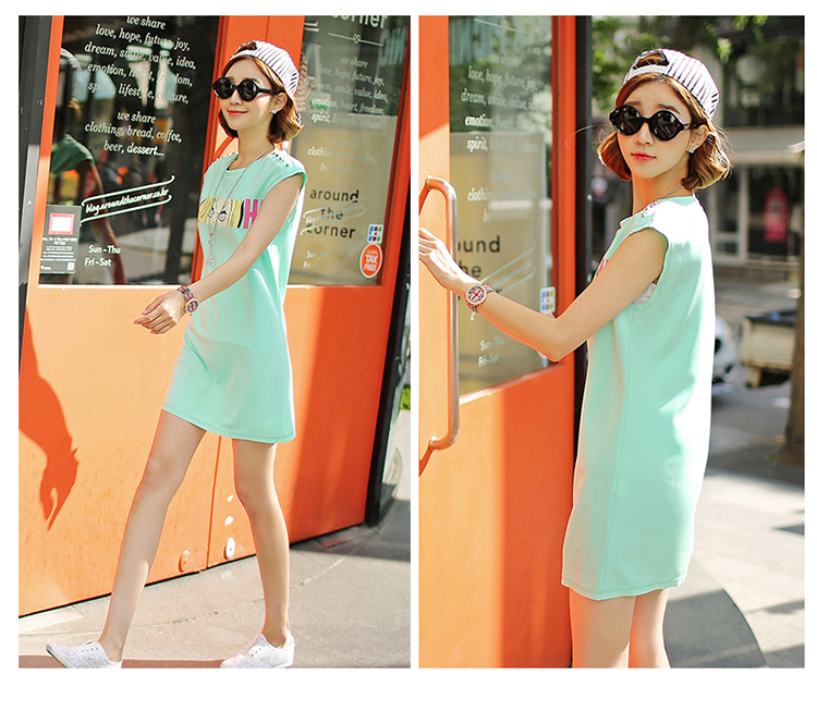 D38720 IDR.139.000 MATERIAL COTTON SIZE M-LENGTH78CM-BUST95CM WEIGHT 250GR COLOR GREEN