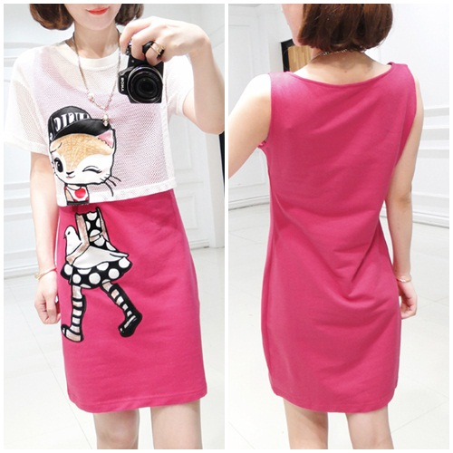 D39329-2in1 IDR.145.000 MATERIAL COTTON SIZE M-LENGTH84CM-BUST92CM WEIGHT 250GR COLOR ROSE.jpg