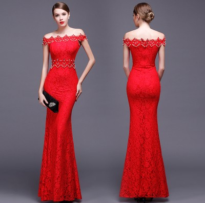 D4001 IDR.158.000 MATERIAL LACE-LENGTH135CM,BUST88CM WEIGHT 350GR COLOR RED