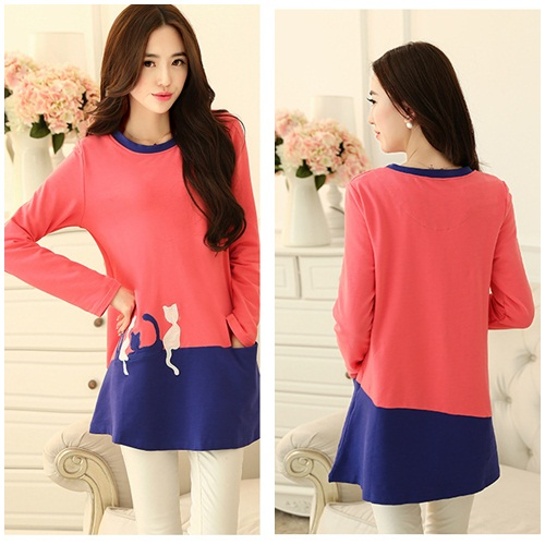 D45941 IDR.125.000 MATERIAL COTTON-SIZE-M-LENGTH72CM-BUST92CM WEIGHT 250GR COLOR PINK