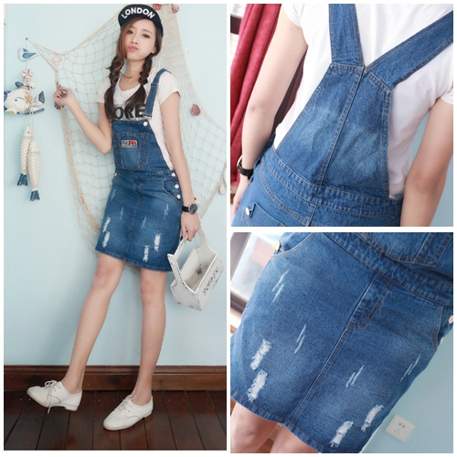 D49475 IDR.133.000 MATERIAL DENIM-SIZE-M,L-LENGTH81CM WEIGHT 300GR COLOR ASPHOTO