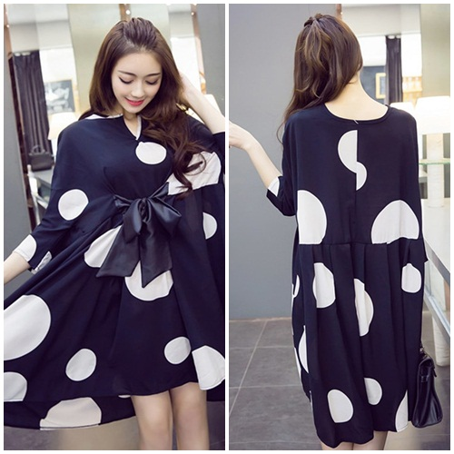 D49724 IDR.167.000 MATERIAL CHIFFON-LENGTH80CM,BUST120CM WEIGHT 250GR COLOR BLACK