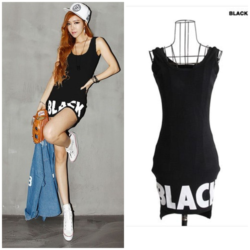 D52189 IDR.98.000 MATERIAL COTTON-LENGTH72CM,BUST78CM-WAIST68CM WEIGHT 240GR COLOR BLACK