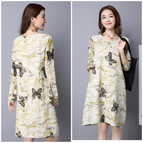 D62636 IDR.130.000 MATERIAL COTTON-LENGTH95CM-BUST100CM WEIGHT 250GR COLOR YELLOW