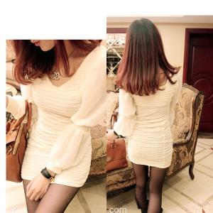 D6382 IDR.98.OOO MATERIAL CREPE-LENGTH-79CM,BUST-72-96CM,BUST-66-88CM WEIGHT 240GR COLOR APRICOT