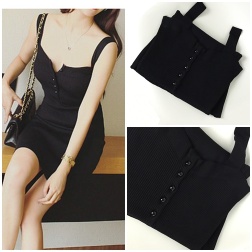 D65561 IDR.125.000 MATERIAL COTTON-LENGTH84CM,BUST68-95CM WEIGHT 250GR COLOR BLACK
