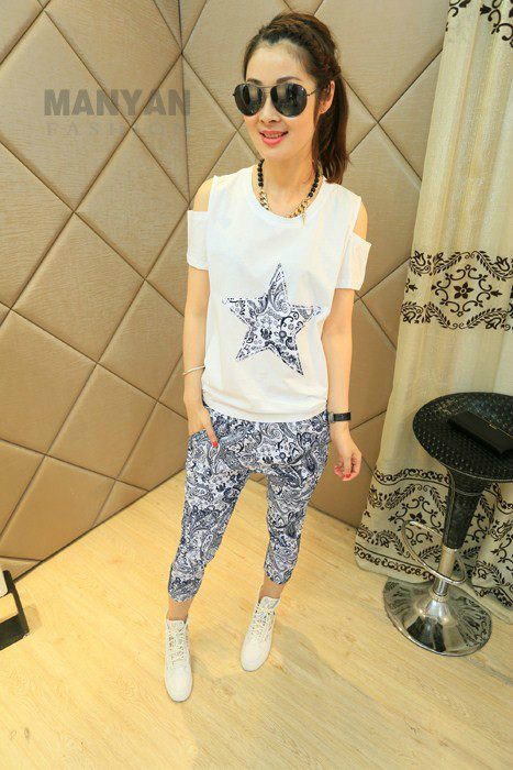LS37807-1SET IDR.132.000 MATERIAL COTTON SIZE M,L-LENGTH-TOP61CM,63CM-PANT76CM,78CM-BUST102CM,104CM-WAIST55-66CM,60-70CM WEIGHT 300GR COLOR WHITE