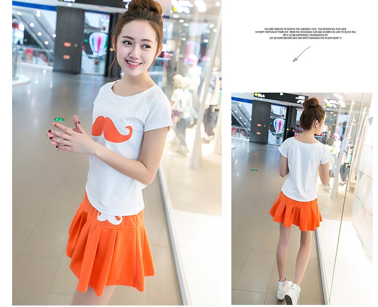 LS49686 IDR.138.000 MATERIAL COTTON-SIZE-M,L-TOP53CM,55CM-PANT32CM,33CM,BUST84CM,88CM WEIGHT 300GR COLOR ORANGE