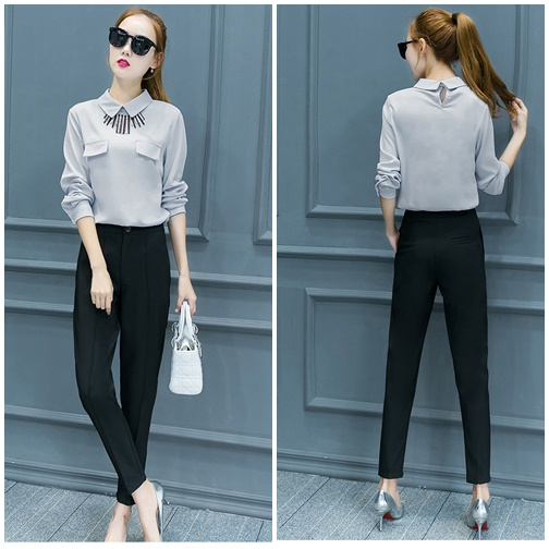 LS58709-WITHNECKLACE IDR.165.000 MATERIAL CHIFFON-SIZE-M,L-TOP63,64CM-PANT89,90CM-BUST96,100-WAIST70,74CM WEIGHT 300GR COLOR GRAY