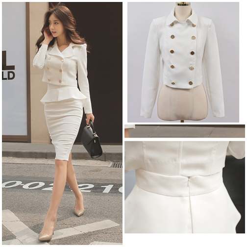LS67692 IDR.275.000 MATERIAL COTTON-TOP44CM-SKIRT68CM-BUST88CM-WAIST70CM WEIGHT 750GR COLOR WHITE
