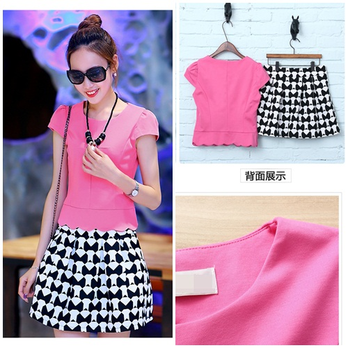 LS6813 IDR.168.000 MATERIAL COTTON SIZE M,L-LENGTH-TOP45CM,46CM-PANT36,37CM-BUST82CM,84CM WEIGHT 300GR COLOR ROSE