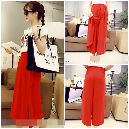 LS8667-IDR.118.000-MATERIAL-CHIFFON-SIZE-M-TOP53CM-PANT78CM-BUST80CM-WAIST64CM-WEIGHT-300GR-COLOR-RED