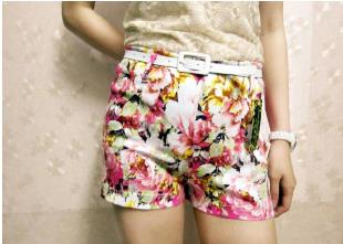 P2306 IDR.87.OOO MATERIAL COTTON-PRINTING-LENGTH-32CM,WAIST-60-70CM-(WITH-BELT) WEIGHT 200GR COLOR PINK