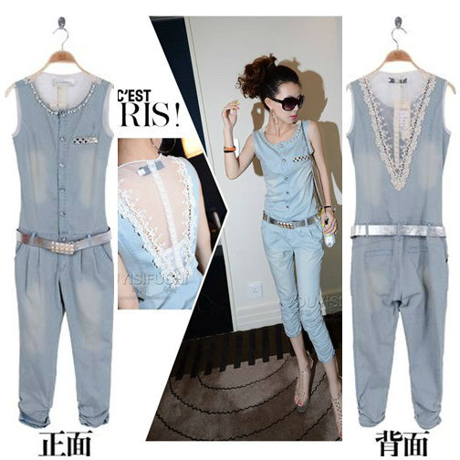 P37243 IDR.186.000 MATERIAL DENIM SIZE M,L,XL LENGTH 125CM,126CM,127CM BUST 84CM,88CM,92CM WAIST 76CM,80CM,84CM WEIGHT 300GR COLOR AS PHOTO (WITH BELT)