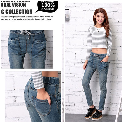 P49682 IDR.139.000 MATERIAL DENIM-SIZE-M,L-LENGTH91CM,92CM-WAIST78CM,81CM WEIGHT 300GR COLOR DARKBLUE