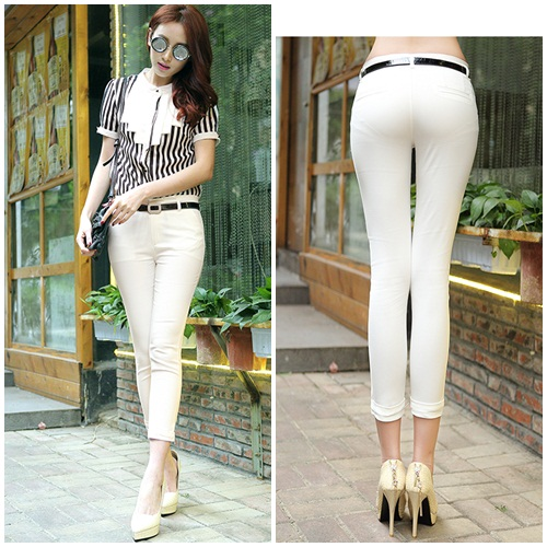 P8002 IDR.150.000 MATERIAL COTTON-BLEND SIZE M,L-LENGTH82CM,85CM-WAIST68CM,72CM WEIGHT 250GR COLOR BEIGE