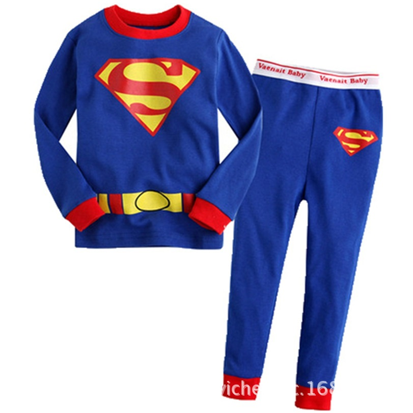 PJ691 BAJU TIDUR ANAK SUPERMAN IDR 75.000 BAHAN COTTON SIZE 90,95,100,110,120,130 WEIGHT 500GR COLOR BLUE