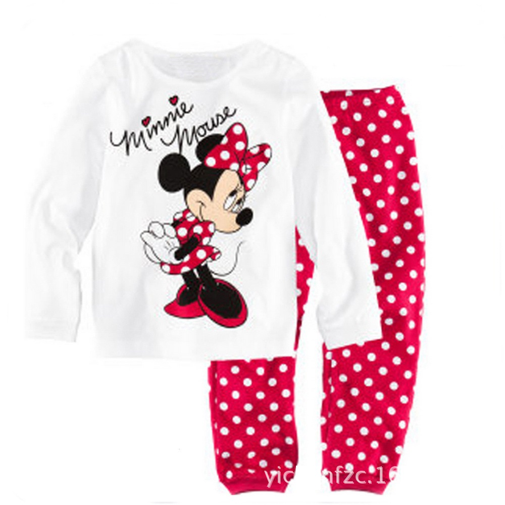 PY044 BAJU TIDUR ANAK MINNIE IDR 75.000 BAHAN COTTON SIZE 90,95,100,110,120,130 WEIGHT 500GR COLOR WHITE