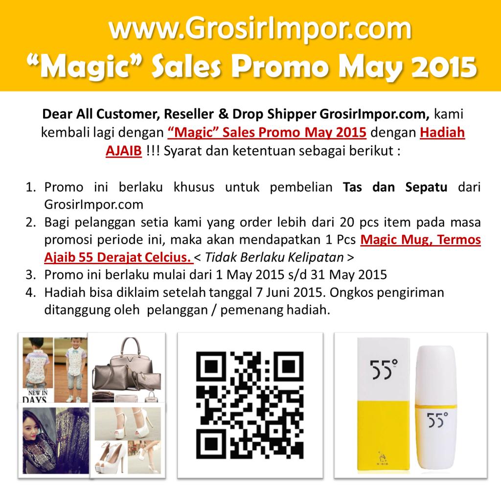 Promo Magic Sales May 2015