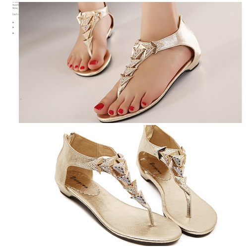 SH0683 IDR.205.000 MATERIAL PU COLOR GOLD SIZE 36,37,38,39