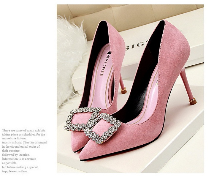 SH10113 IDR.220.000 MATERIAL SUEDE-HEEL-9CM COLOR PINK SIZE 36,37,38,39