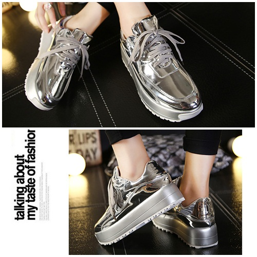 SH10271 IDR.253.000 MATERIAL PU HEEL 3.5CM,4.5CM COLOR SILVER SIZE  36,37,39