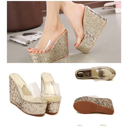 SH1181 IDR.225.000 MATERIAL PU-HEEL-6CM,13CM COLOR GOLD SIZE 36,37,38