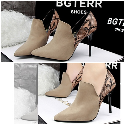 SH1223 IDR.245.000 MATERIAL SUEDE HEEL 9.5CM COLOR APRICOT SIZE 35,36,37,38,39