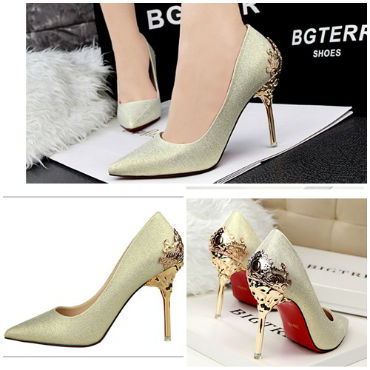 SH17231 IDR.242.000 MATERIAL SUEDE-HEEL-10CM COLOR GOLD SIZE 35,36,37,38,39