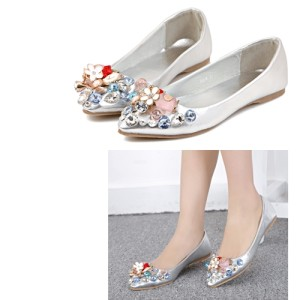 SH1804 IDR.228.OOO MATERIAL PU COLOR GOLD,SILVER SIZE 35,36,37,38,39 (2)