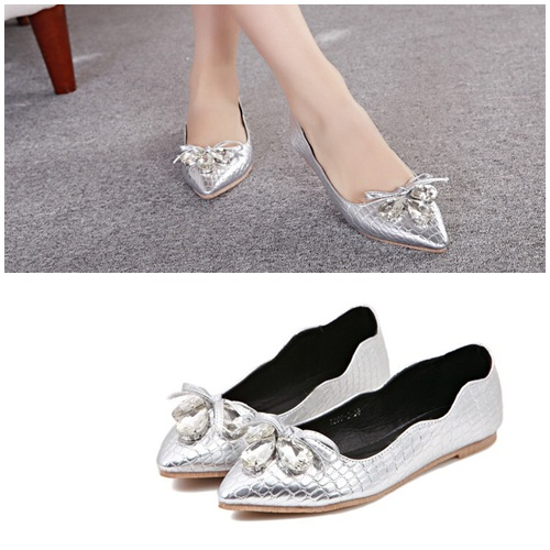 SH2092 IDR.195.000 MATERIAL PU COLOR SILVER SIZE 36,37,38,39