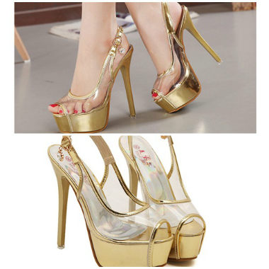 SH2223 IDR.229.000 MATERIAL TRANSPARANT-HEEL-5CM,15CM COLOR GOLD SIZE 35,37,38,39