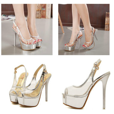 SH2223 IDR.229.000 MATERIAL TRANSPARANT-HEEL-5CM,15CM COLOR SILVER SIZE 35,38,39