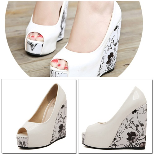 SH2412 IDR.238.000 MATERIAL PU HEEL 3.5CM,13.5CM COLOR WHITE SIZE 35,36,37,38,39