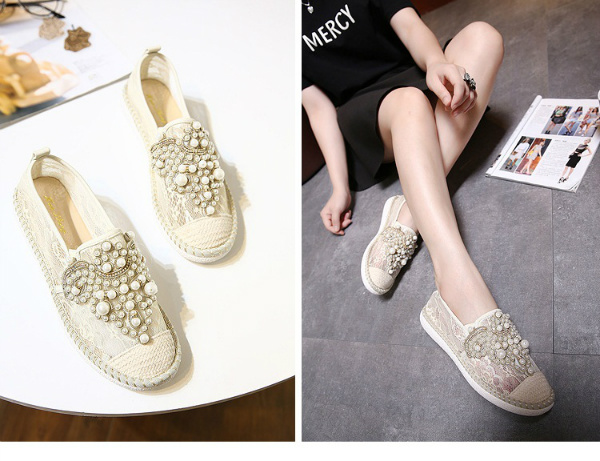 SH30826 IDR.255.000 MATERIAL LACE-HEEL-3CM COLOR APRICOT SIZE 35,36,37,38,39,40