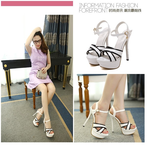 SH3335 IDR.214.000 MATERIAL PU HEEL 14CM COLOR WHITE SIZE 35,36,37,38,39