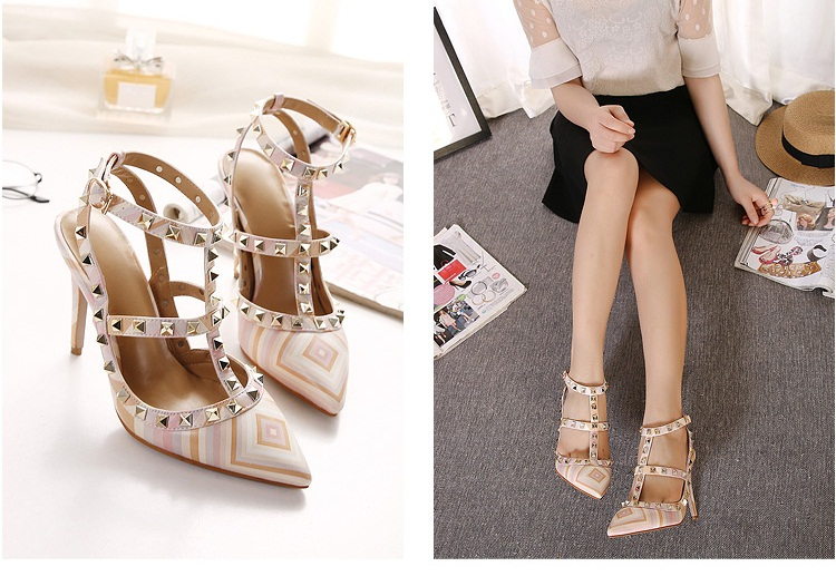 SH3383 IDR.255.000 MATERIAL PU-HEEL-10.5CM COLOR PINK SIZE 36,37,38,39