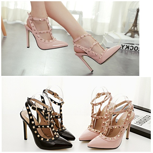 SH346 IDR.225.000 MATERIAL PU HEEL 11.5CM COLOR PINK SIZE 35,36,37,38,39.jpg
