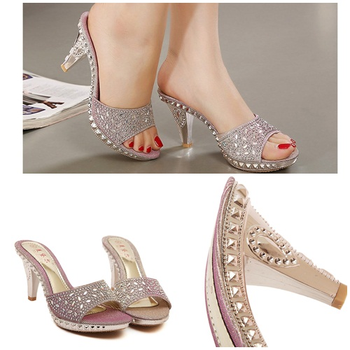 SH3556 IDR.225.000 MATERIAL PU HEEL 8.5CM COLOR PINK SIZE 36,37,38,39.jpg