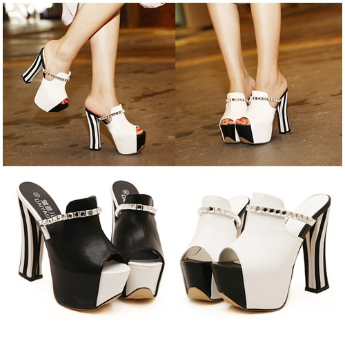 SH3602 IDR.248.000 MATERIAL PU HEEL 6CM,14CM COLOR WHITE SIZE 36,37,38,39