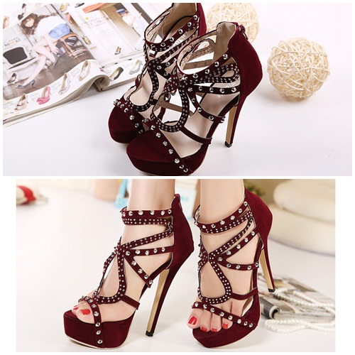 SH3683 IDR.268.000 MATERIAL SUEDE HEEL 5CM,14CM COLOR RED SIZE 37,38,39.jpg