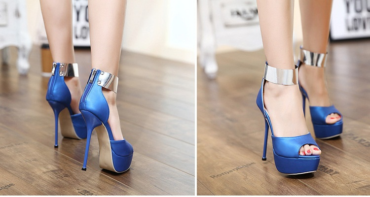 SH36876 IDR.232.000 MATERIAL PU-HEEL-14CM COLOR BLUE SIZE 35,36,37,38,39