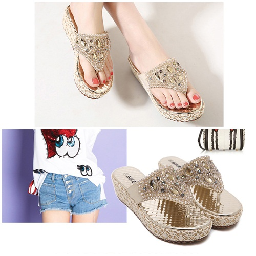 SH381 IDR.225.000 MATERIAL PU-HEEL-5CM COLOR GOLD SIZE 38
