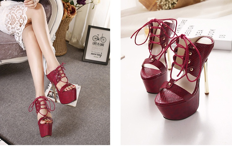 SH53237 IDR.230.000 MATERIAL PU-HEEL-16CM COLOR RED SIZE 36,37,38,39